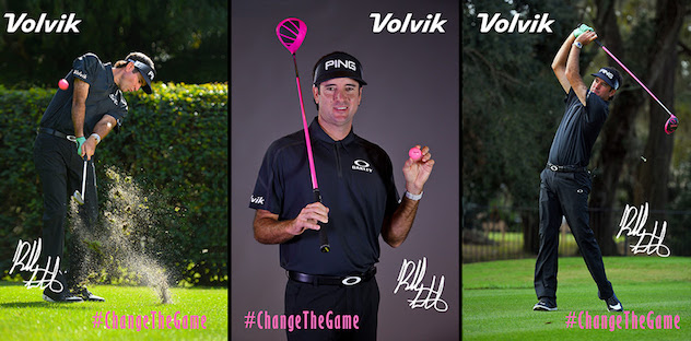 Bubba Gets His Pink On with Volvik