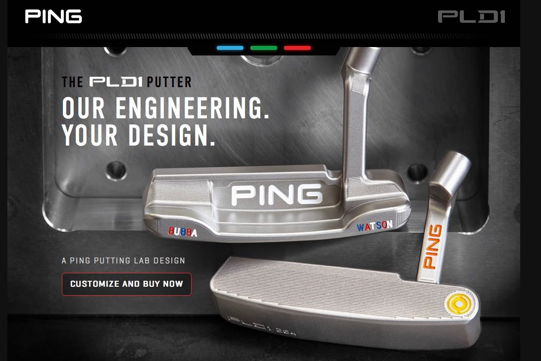 First Look: PING Customizable PLD1 Putter Program