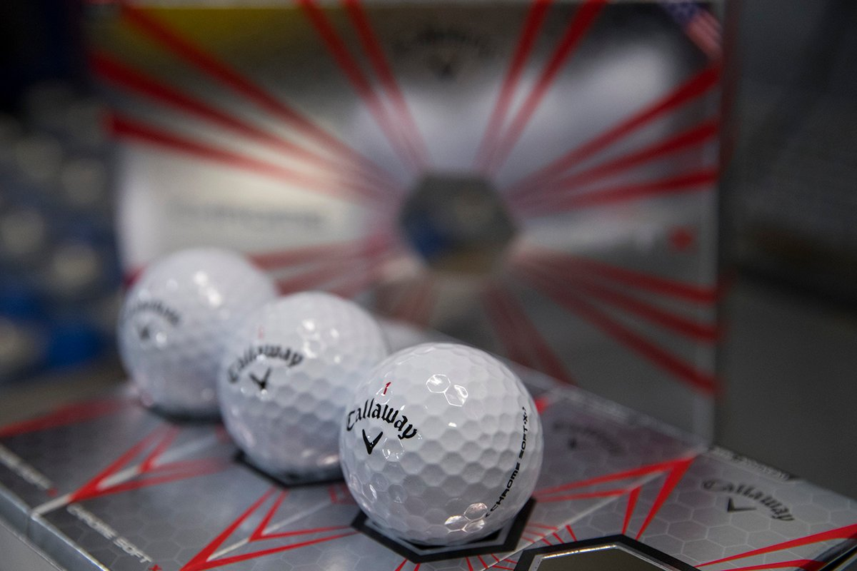 Callaway Chrome Soft Gets an X Rating