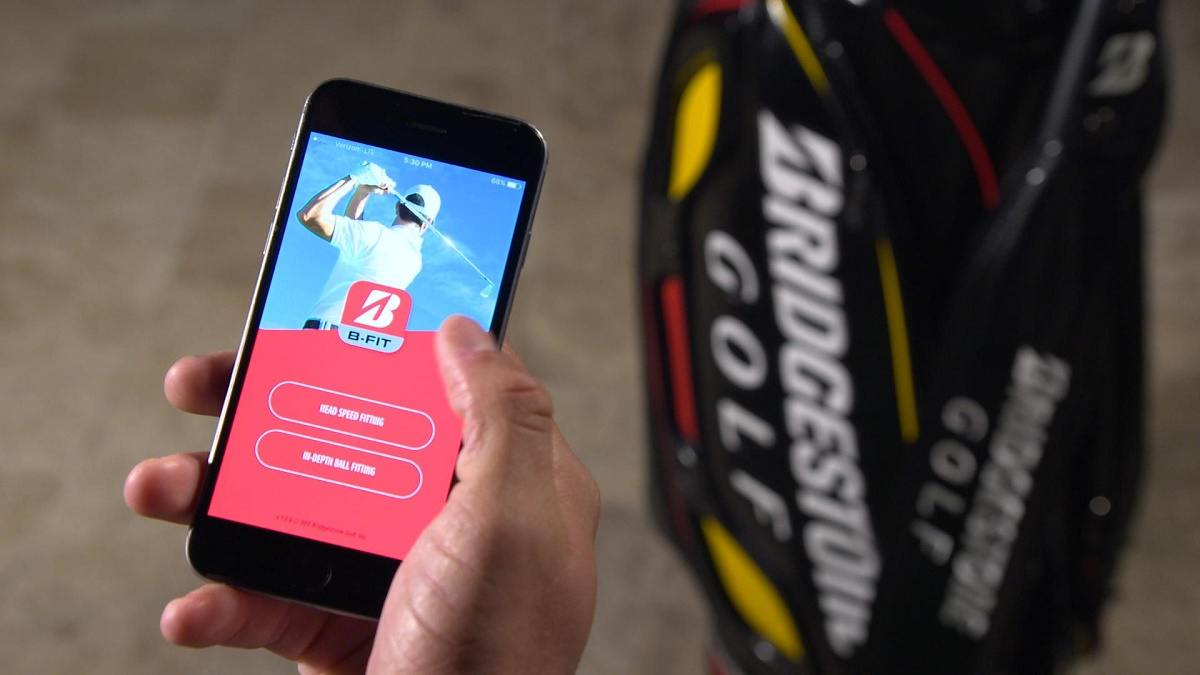 First Look: Bridgestone's B-FIT Ball Fitting App