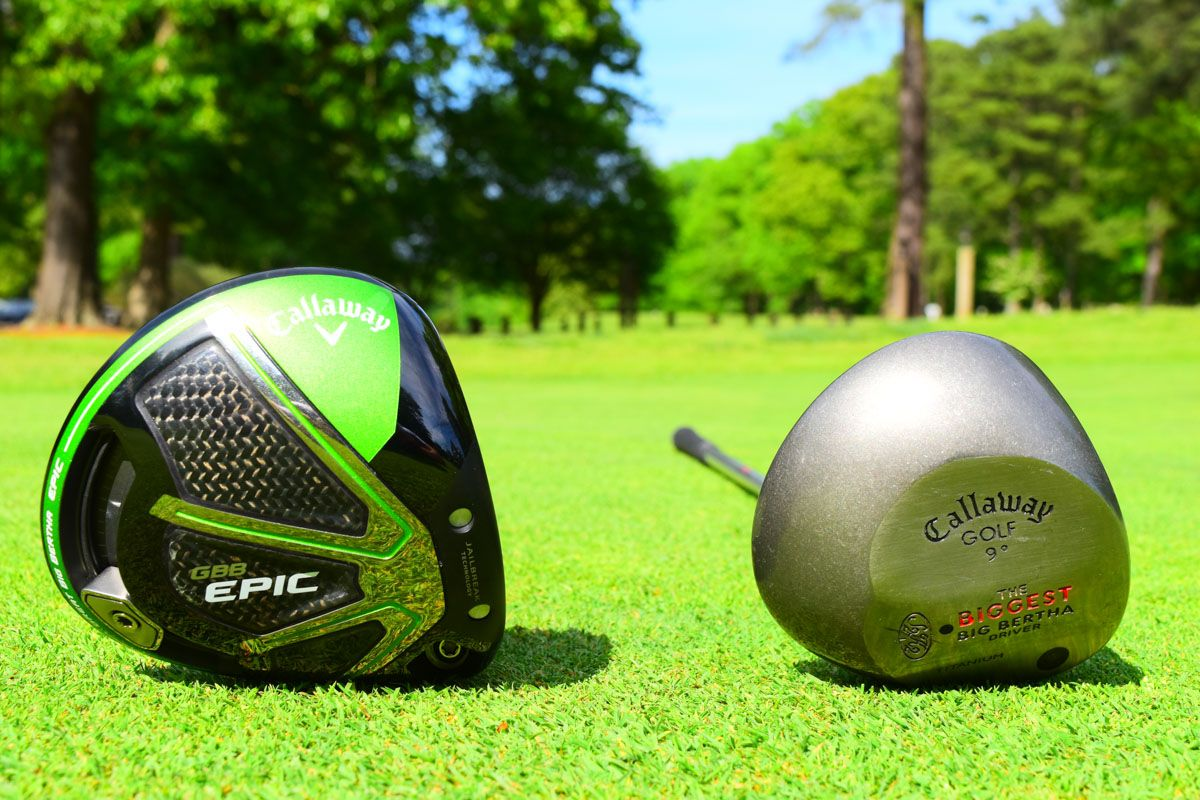Callaway Biggest Big Bertha 1997 Vs Callaway Epic 2017