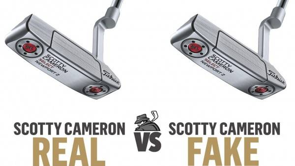 {REAL} Scotty Cameron  (vs)  Scotty Cameron {FAKE}