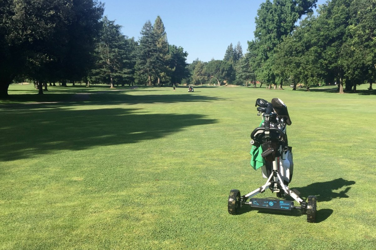 Tested: Alphard Golf eWheels Electric Push Cart Kit