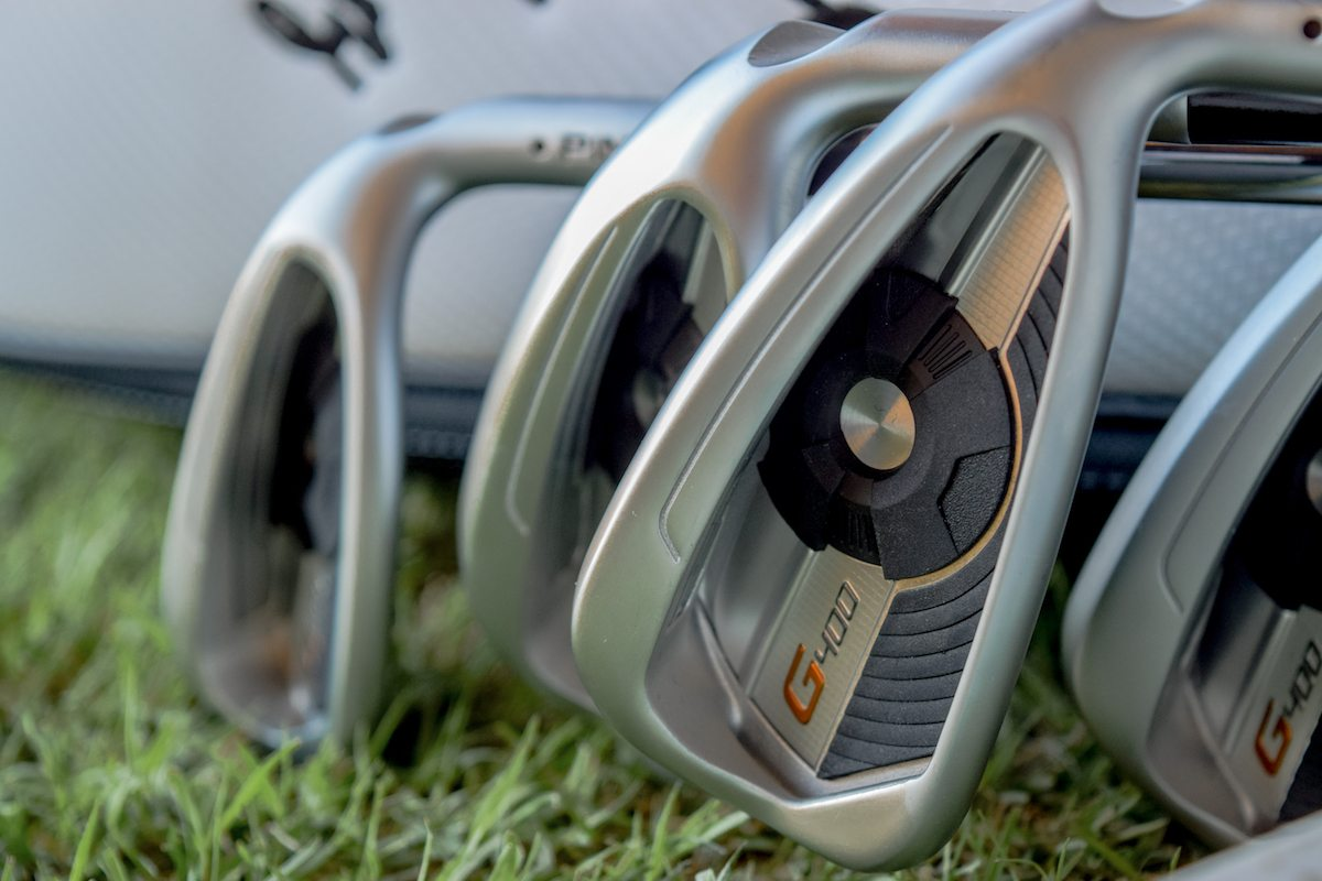 PING G400 irons - 11-0389