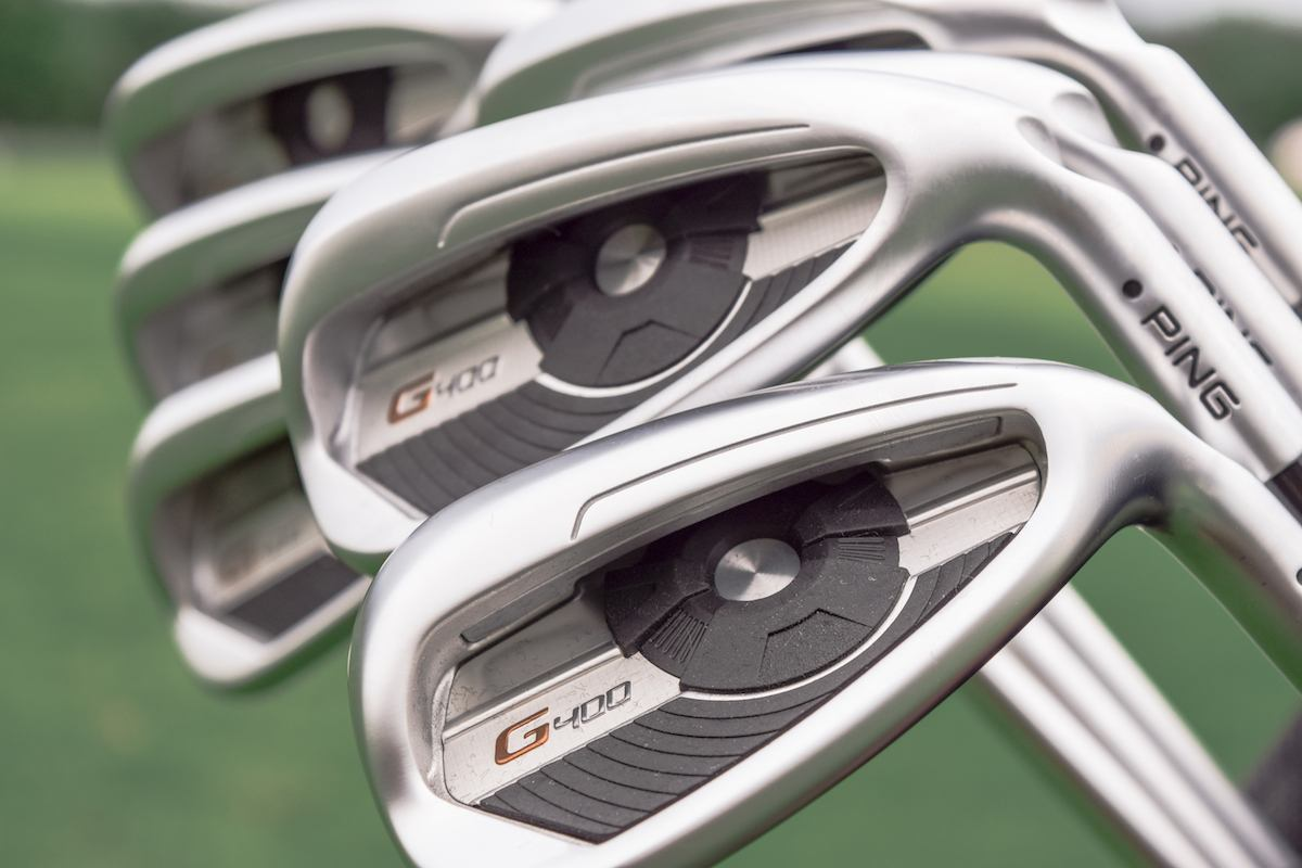 PING G400 irons - 20-0465