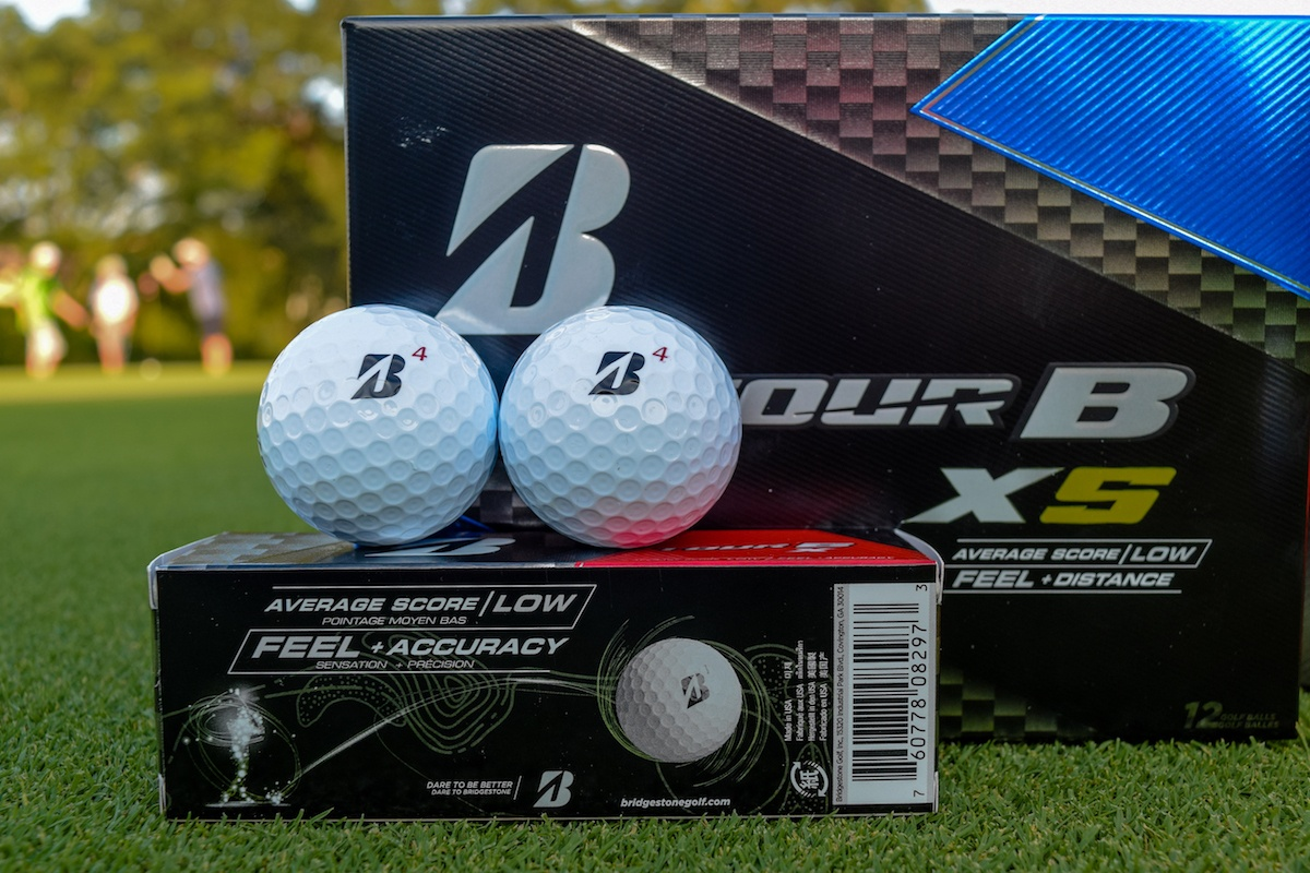 first look 2018 bridgestone tour b golf balls. Black Bedroom Furniture Sets. Home Design Ideas