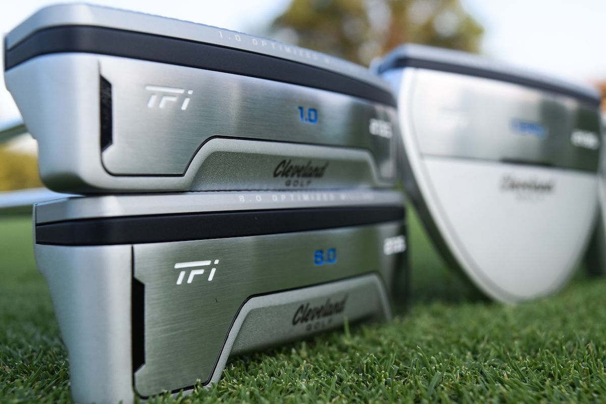 First Look: Cleveland TFi 2135 Satin Putters
