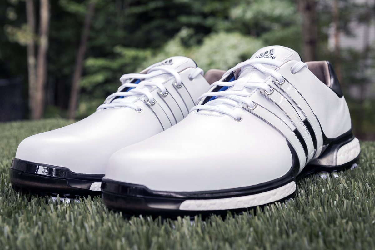 adidas TOUR360-111. Dustin Johnson s latest new shoe ... cdd348ec6