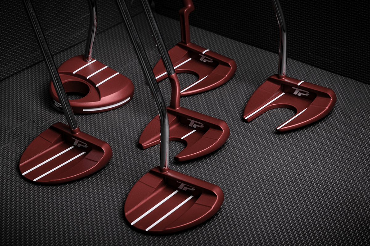First Look – TaylorMade TP Red Collection Putters
