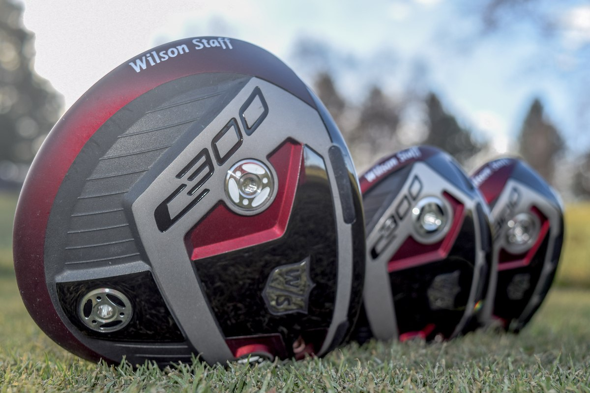 First Look: 2018 Wilson Staff C300 Driver, Fairway, and Hybrid