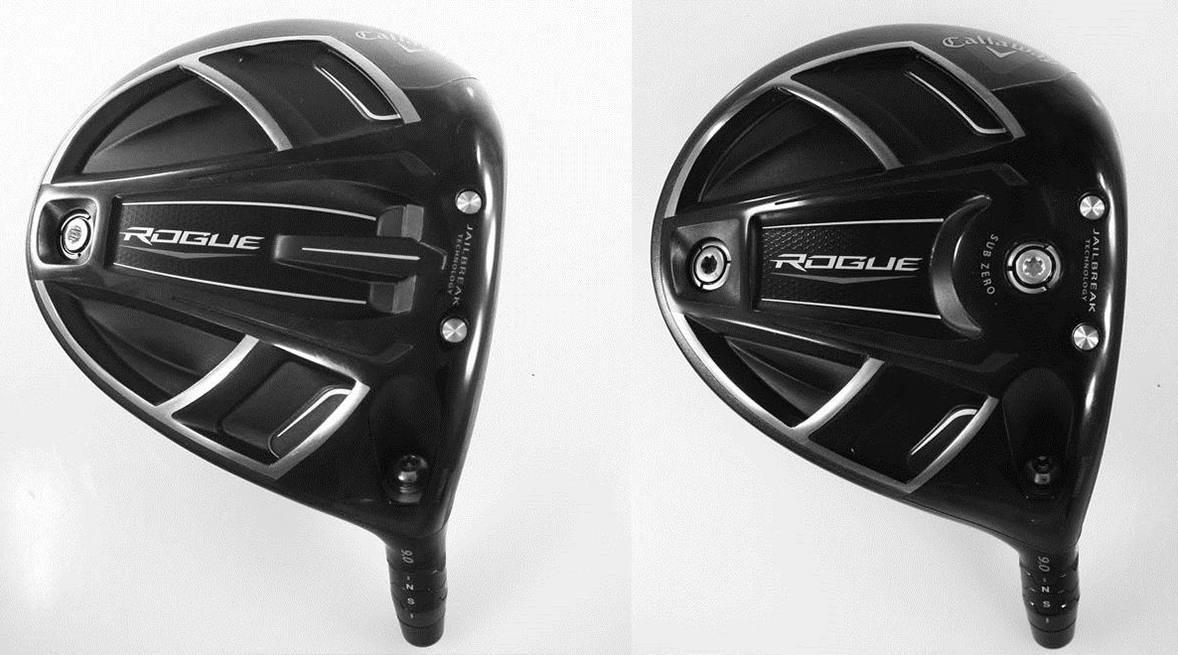 First Look – 2018 Callaway Rogue and Rogue Sub Zero Drivers