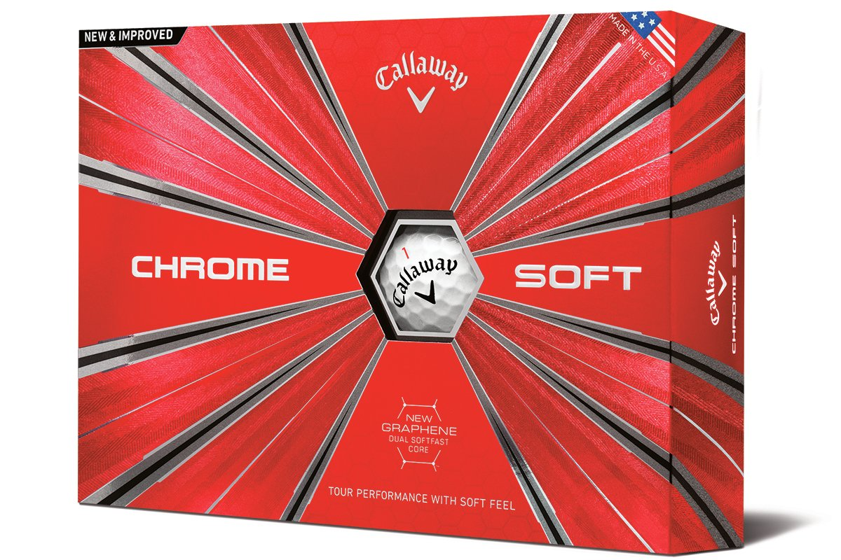 2018 Callaway Chrome Soft X A New Material Changes And The Red On Other 2nd Switch Utilizes 1 Black White