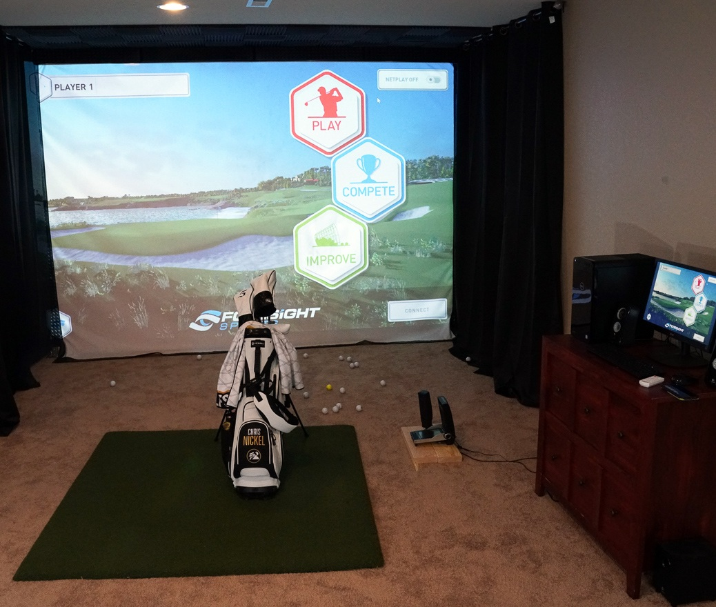 Building A Home Golf Simulator