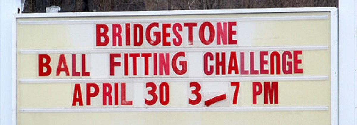 Bridgestone ball fitting 2