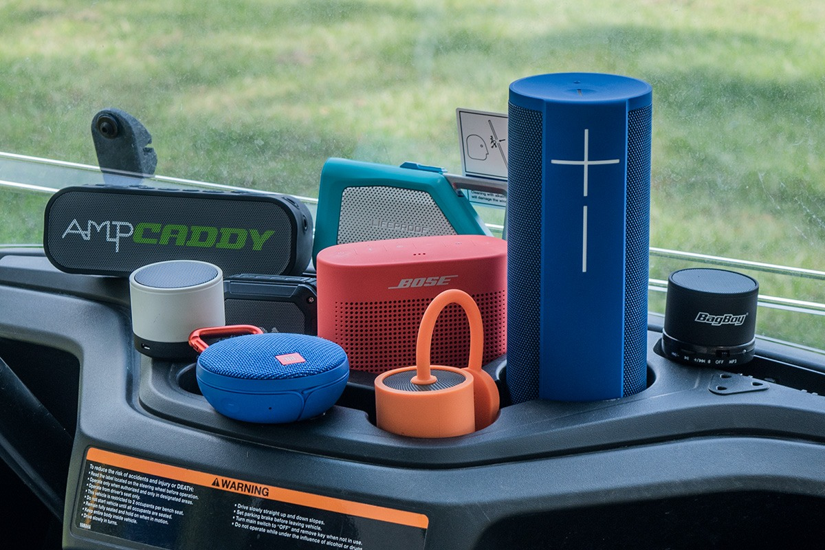 THE BEST BLUETOOTH GOLF SPEAKERS 2018