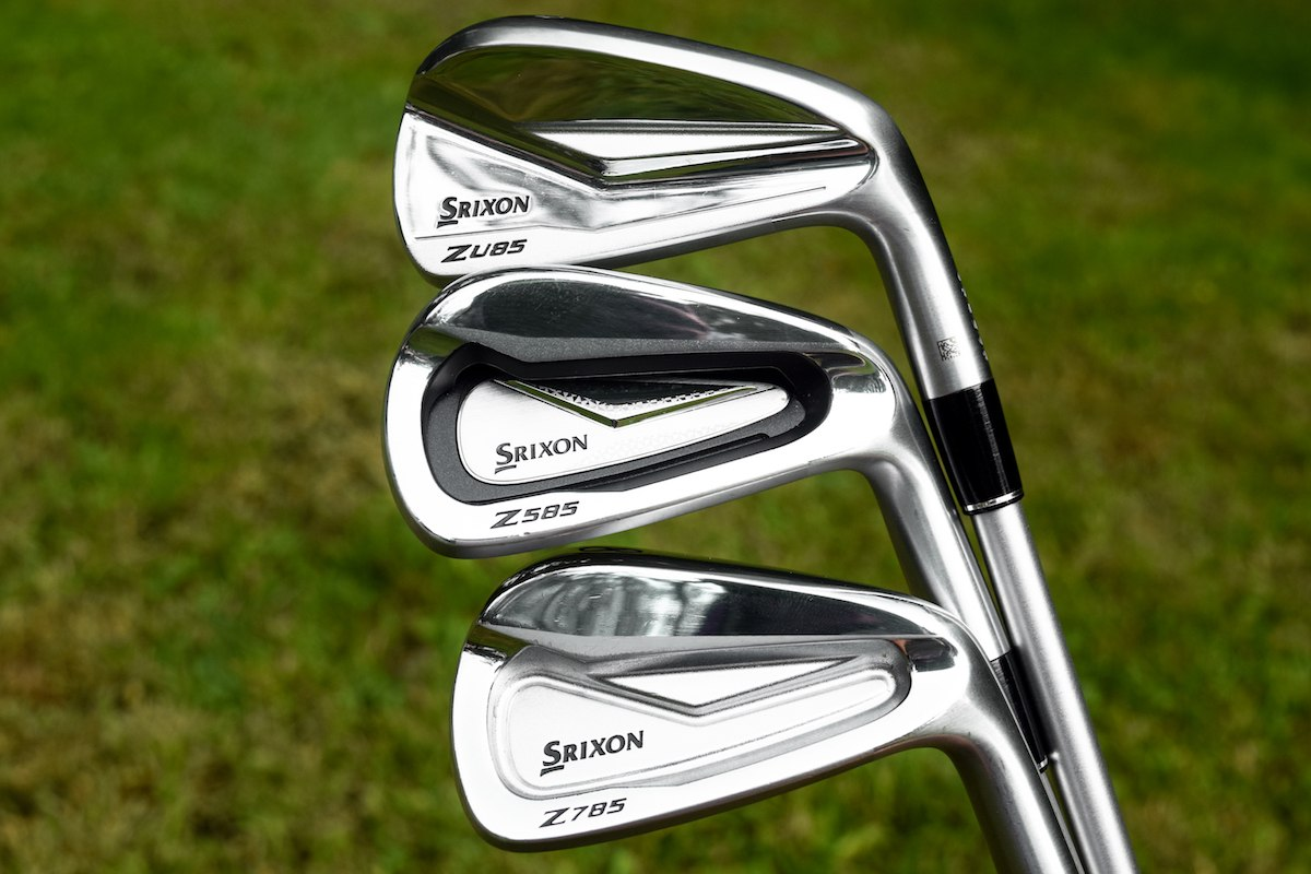 First Look: Srixon Z 585/785/U85 Irons