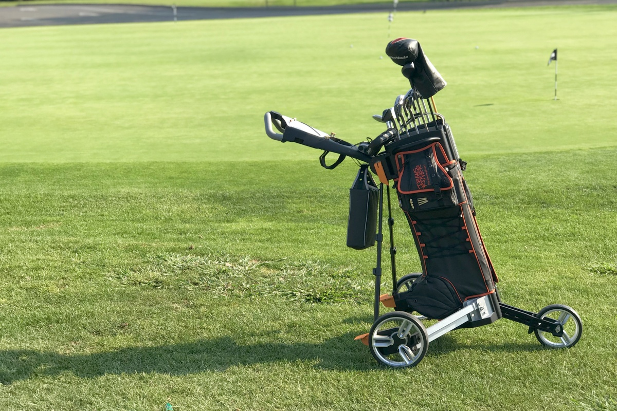 From The PGA Show Fringe: The Transrover All-In-One Cart