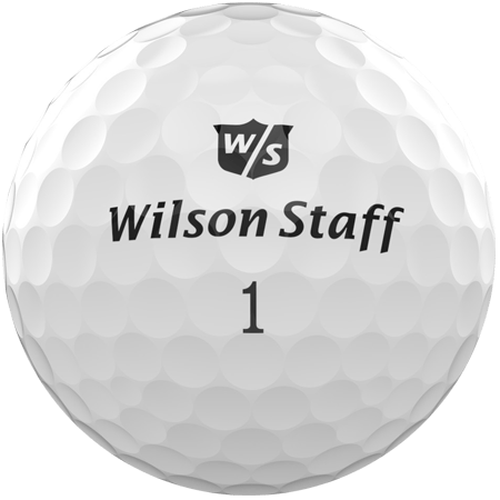 A Duo ball, one of the best golf balls