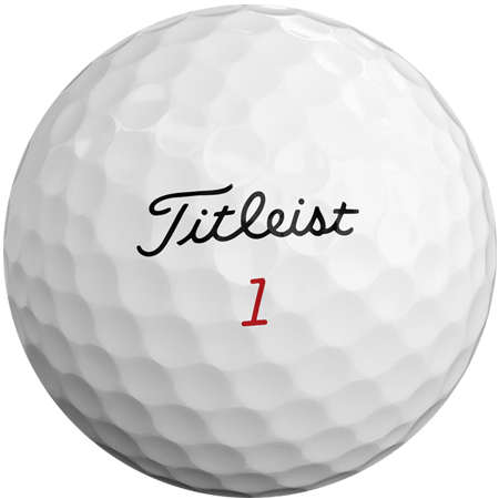 A ProV1x ball, one of the best golf balls