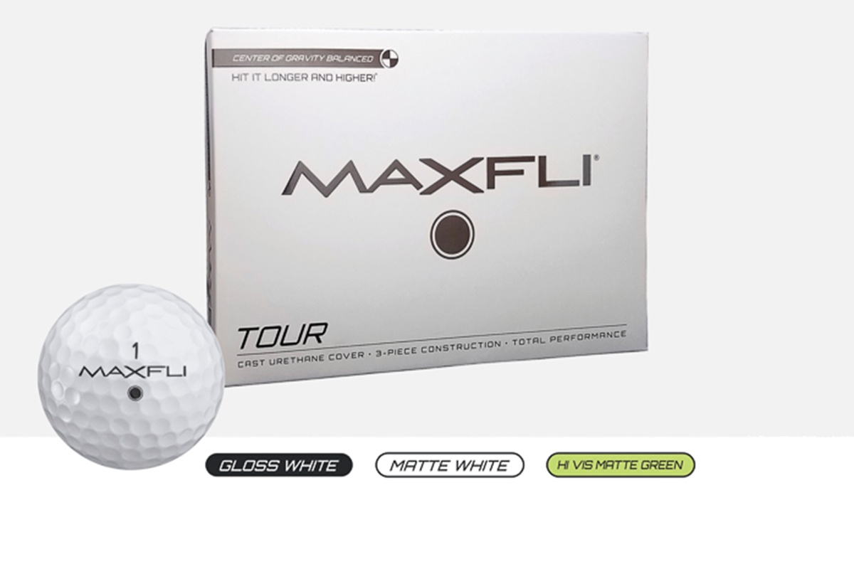First Look – Maxfli Tour And Tour X Golf Balls