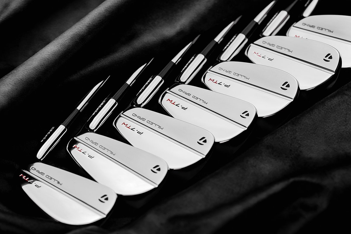 First Look – TaylorMade P-7TW Tiger Woods Irons