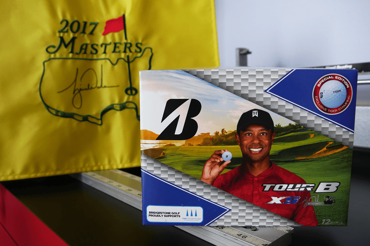Win an Awesome Tiger Woods Prize Package from Bridgestone Golf