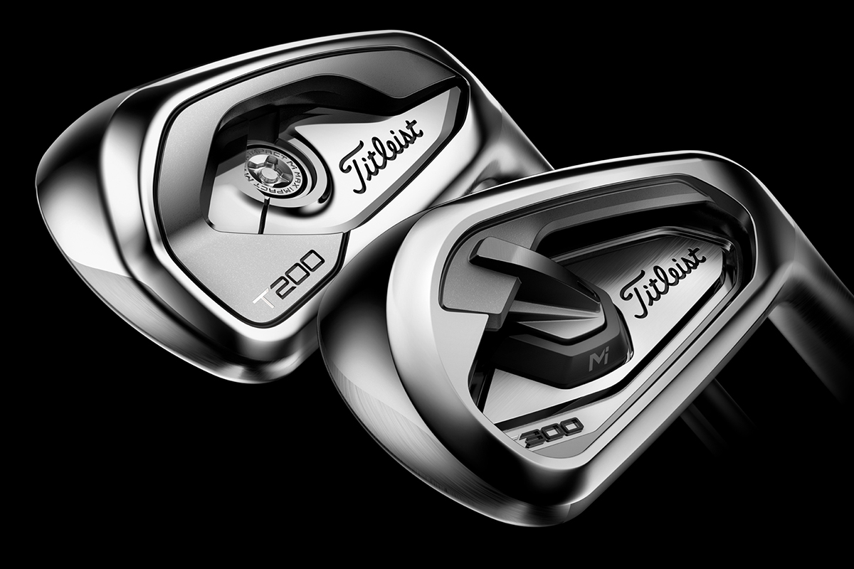 Titleist Launches T200 & T300 Irons on Tour