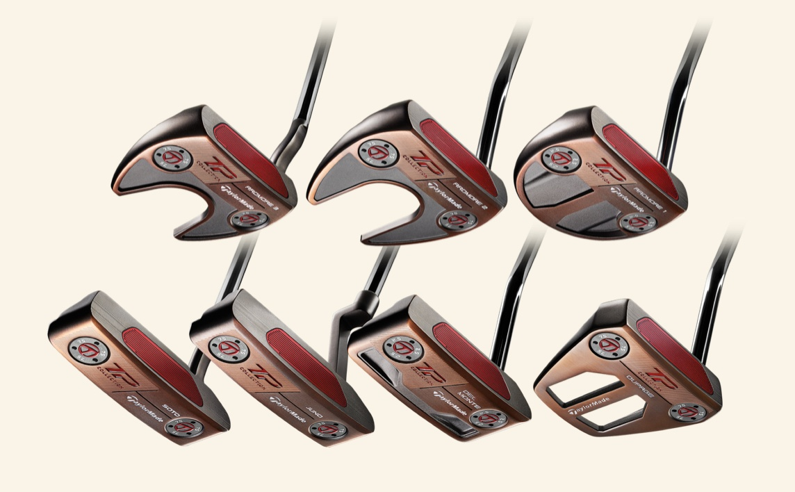 Vintage from Day 1 – TaylorMade Launches TP Patina Putter Collection