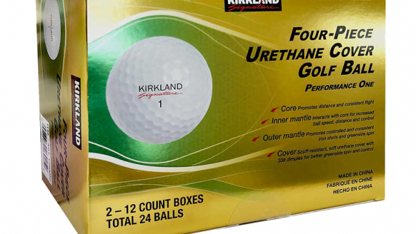 The Costco 4-Piece Kirkland Signature Golf Ball is Back (or is it?)