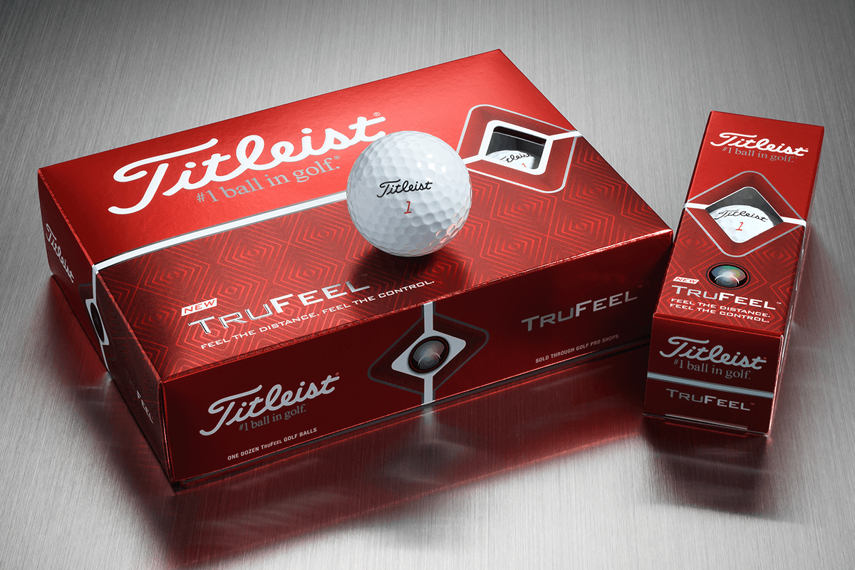 The new TruFeel is the Softest Ball in the Titleist Lineup