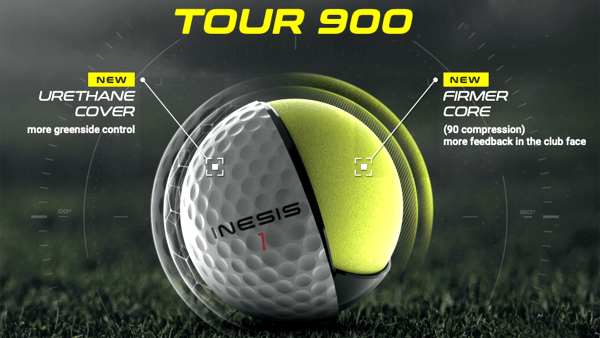 First Look: Second Generation Inesis Tour 900 Ball