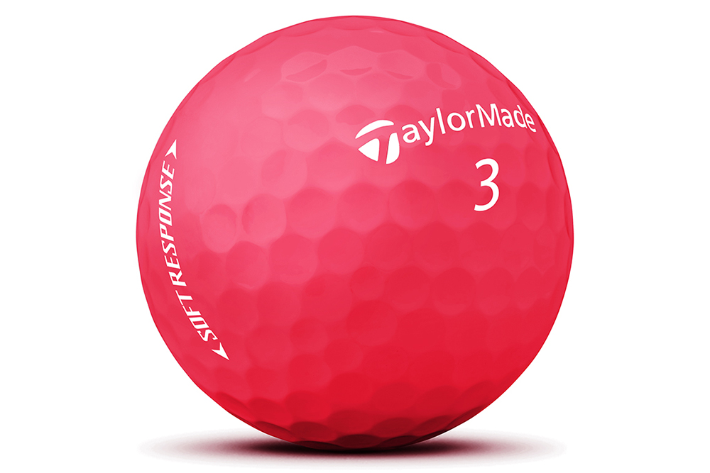TaylorMade Soft Response Matte Red
