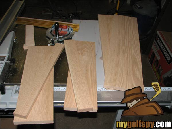 Diy Golf Quot How To Build Your Own Putter Rack Quot