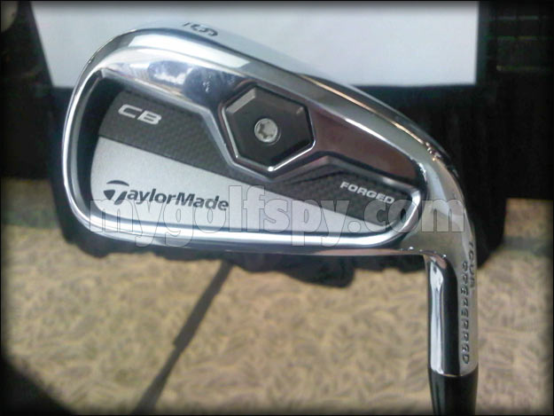 SPOTTED - New Taylormade 2011 MB, CB & MC Irons